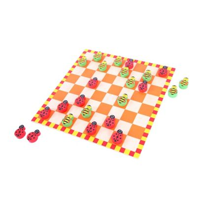 Bigjigs Toys Ladybird and Bee Draughts