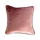 McAlister Velvet Cushion Cover - Rose Pink, Silky Touch