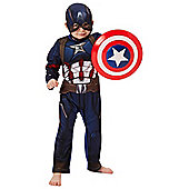 Marvel Captain America Dress-Up Costume - Blue