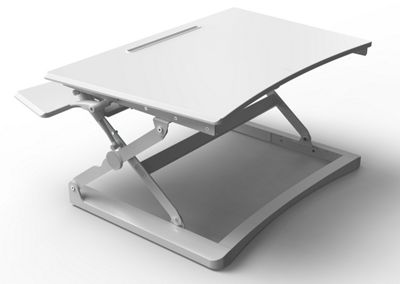 Core Products Sit-Stand Workstation - Small White