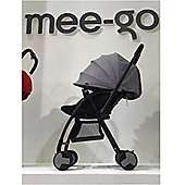 Mee-Go Feather Lightweight Stroller/Buggy - Grey