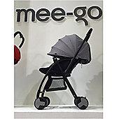 Mee-Go Feather Lightweight Stroller/Buggy - Grey