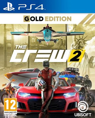 The Crew 2: Gold Edition- PS4
