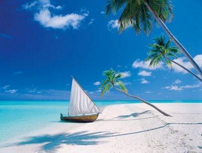 Maldive Island - 1000pc Puzzle