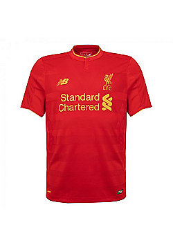 New Balance Liverpool F.C. Home Jnr SS Jersey 2016/17 - Red