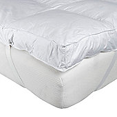 Homescapes Goose Feather Bed Single Mattress Topper
