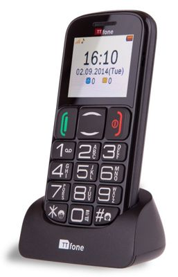 buy ttfone mercury 2 big button basic sim free senior mobile phone with dock from our feature. Black Bedroom Furniture Sets. Home Design Ideas