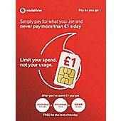 Pay as you go 1 SIM card