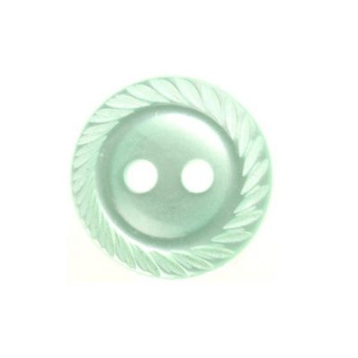 Hemline Decorative Lime Green Buttons 16.25mm 8pk