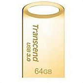Transcend JetFlash 710 64GB USB 3.0 (3.1 Gen 1) Type-A Gold flash drive