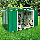 BillyOh Partner Double Doors Apex Metal Store Shed - 8 x 10