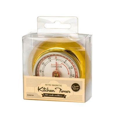 Eddingtons Retro Gold Magnetic Timer