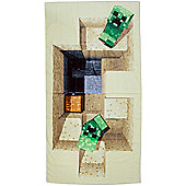 Minecraft Defeat Towel