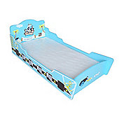 Kiddi Style Childrens Pirate Themed Wooden Boat Bed - Blue