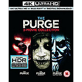 The Purge Trilogy (4K UHD+BD+UV)