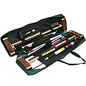 Garden Games Challenger Croquet Set competitive style in toolkit bag