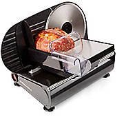 Andrew James Electric Food Slicer with 3 Multi-Use Blades, 150W, Black