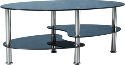 Home Essence Fleetwood Coffee Table in Black