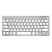 Caseflex Ultra Slim Wireless Universal Bluetooth Keyboard (Silver)