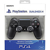 Sony PS4 Official DualShock 4 Controller V2 - Jet Black