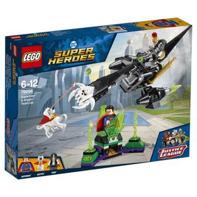 LEGO Dc Super Heroes Superman & Krypto Team Up 76096