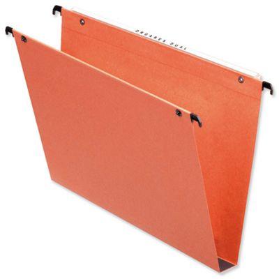 Esselte Orgarex Suspension File Kraft Square Base 30mm Capacity [Pack 25]
