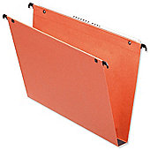 Esselte Orgarex Suspension File Kraft Square Base 30mm Capacity [Pack 25]
