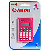 Canon AS-8 Pocket Basic calculator Pink