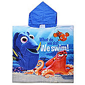 Finding Dory 'What Do We Do' 100% Cotton Poncho