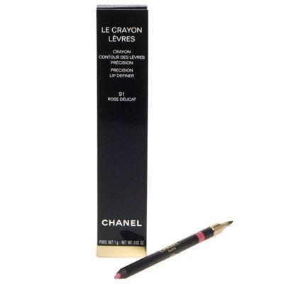 Chanel Le Crayon Levres Pink Lip Liner 91 Rose Delicat