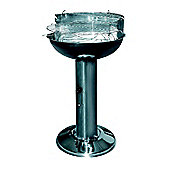 Redwood Leisure Stainless Steel Pedestal BBQ Barbeque