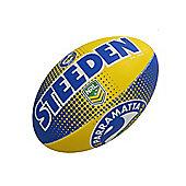 Steeden NRL Parramatta Eels 2018 Supporter Rugby League Ball - 5