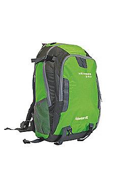 Yellowstone Adventurer 40L Waterproof Rucksack Green