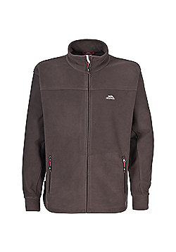 Trespass Mens Bernal Fleece Jacket Granite 3XL - Khaki