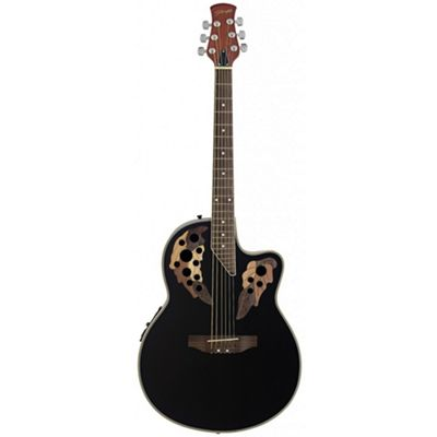 Stagg A2006 Shallow Cutaway Electro Acoustic - Black