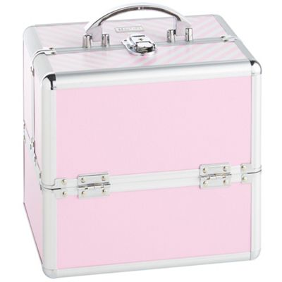 Beautify Small Pink Beauty Cosmetics Make Up Case