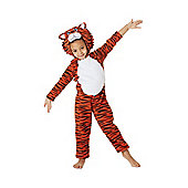 Tiger Fancy Dress Costume - Orange