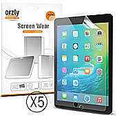 Orzly 5 in 1 Screen Protector Pack for iPad Pro
