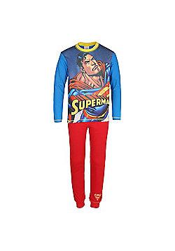 DC Comics Batman Superman Boys Pyjamas - Red