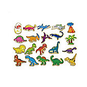 Magnetic Dinosaurs - 20 Pieces