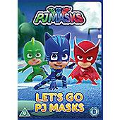 Pj Masks: Let'S Go Pj Masks DVD