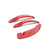 Tacx Tyre Levers Red (3pcs)