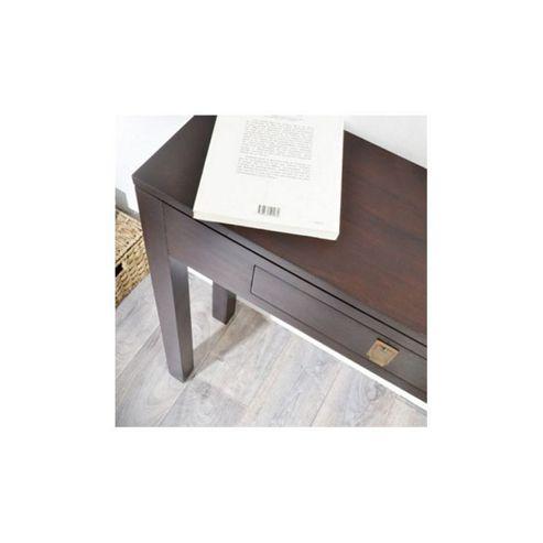 Tikamoon Zenaka Square Mahogany Console Table