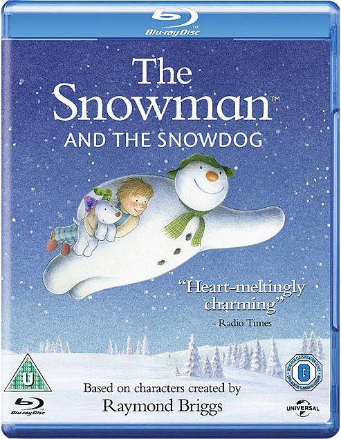 Snowman & The Snow Dog Blu-Ray