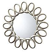 Auckley Silver Mirror 47