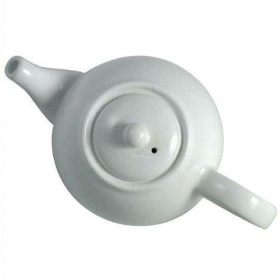 Dexam London Pottery 4 Cup Globe Teapot - White