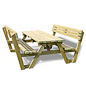 Lyddington picnic bench - 6ft