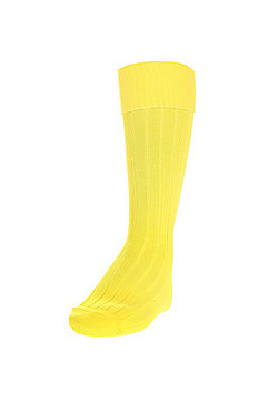 Precision Training Plain Football Socks - Yellow