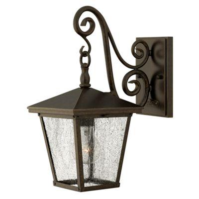 Regency Bronze Small Wall Lantern - 1 x 100W E27
