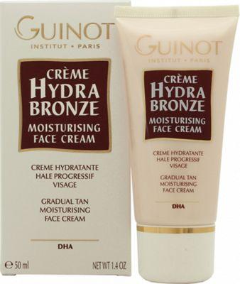 Guinot Hydra Bronze Gradual Tan Moisturising Face Cream 50ml